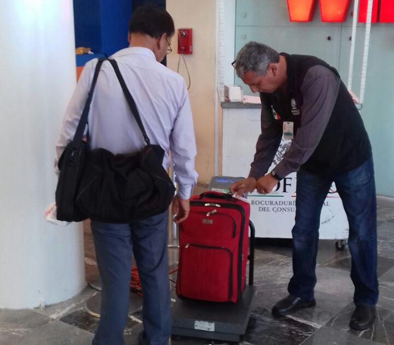 Pesará Profeco Maletas En Aeropuerto De Tijuana Infobaja De Bc