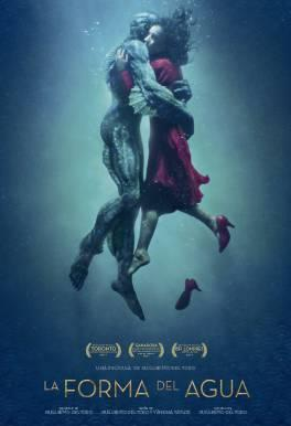 "Película ""La forma del agua"" (The Shape of Water), dirigida por Guillermo del Toro"