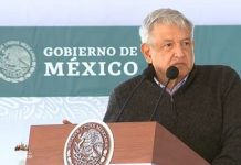 El presidente de los Estados Unidos Mexicanos, Andrés Manuel López